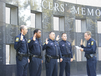 New Officers Sworn In